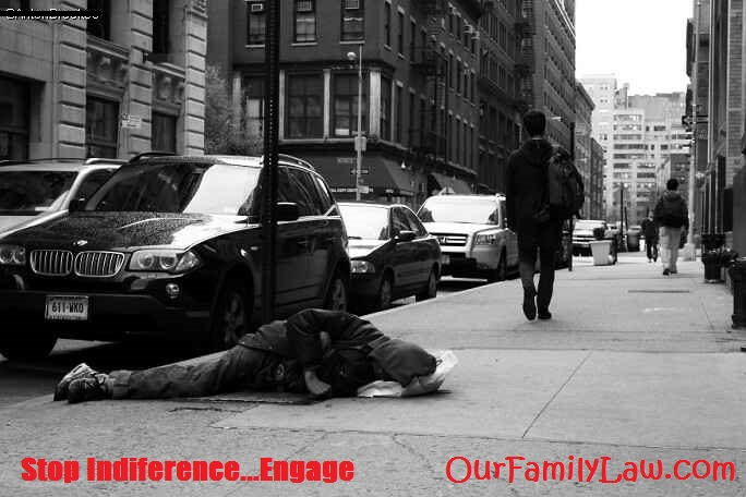 Stop Indifference...ENGAGE